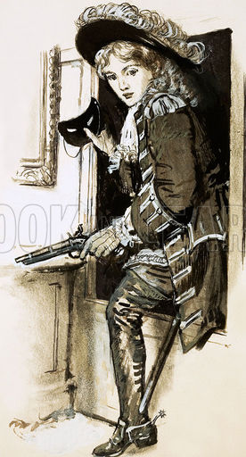 Female highwayman Lady Katherine Ferrers