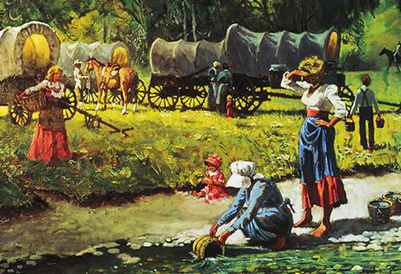 pioneer-women-getting-water
