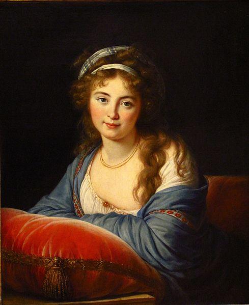 489px-Élisabeth-Louise_Vigée-Le_Brun_-_La_comtesse_Skavronskaia_(1796)